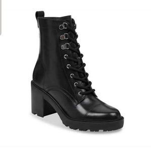 Marc Fisher Lanie Combat Boots